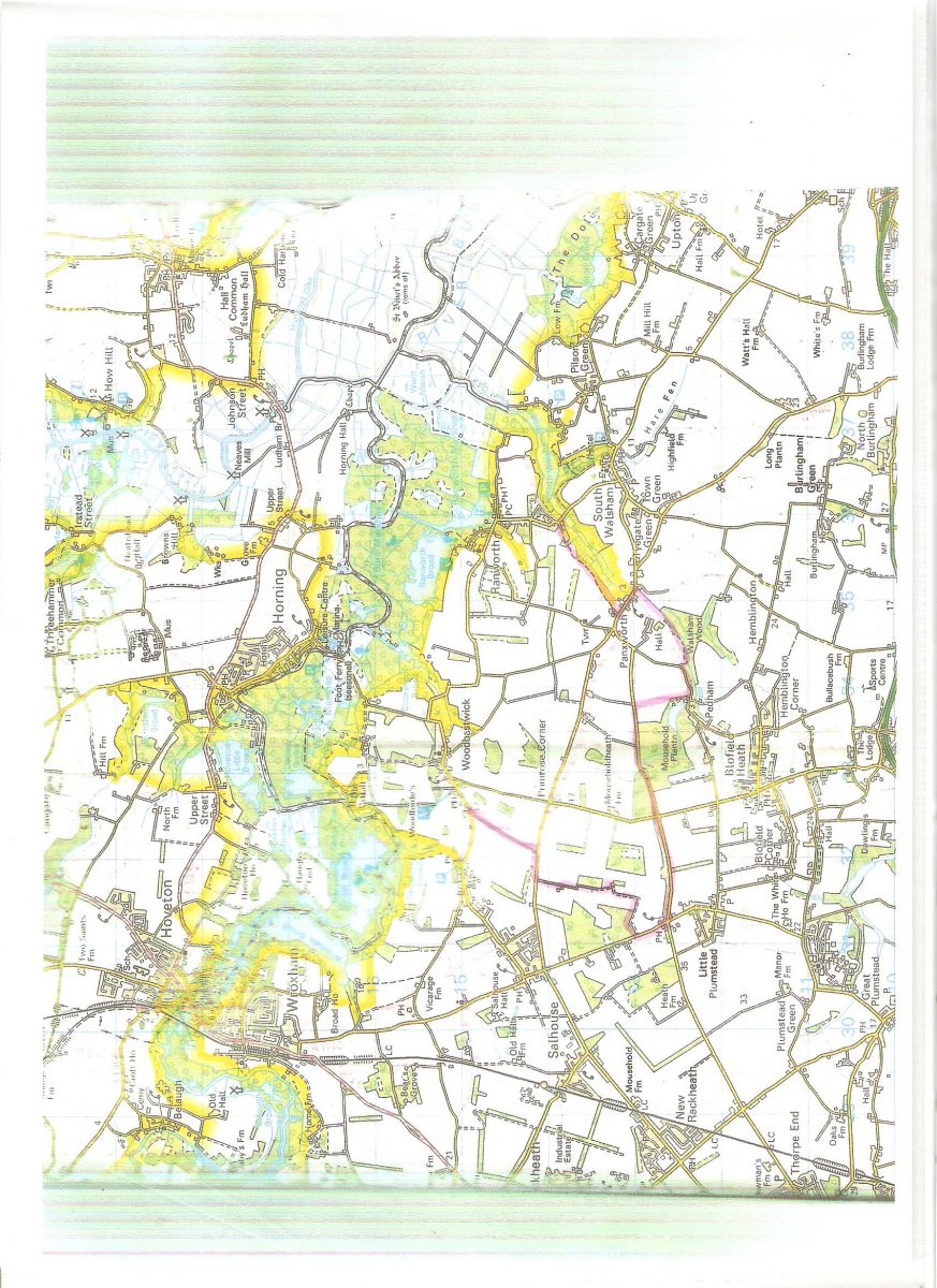 Broads' Authority Planning control areas of the Parish
